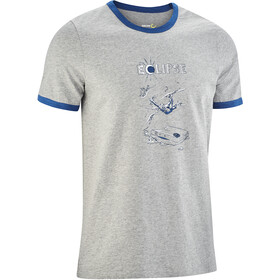 Edelrid Highball III Camiseta Hombre, grey melange